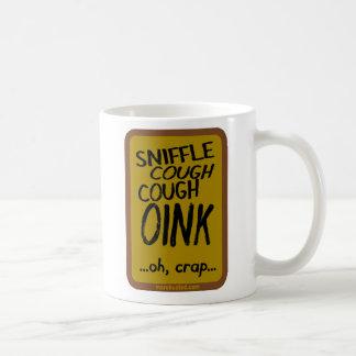 Swine Flu (mug) Basic White Mug