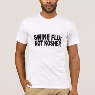 Swine flu: not kosher T-Shirt