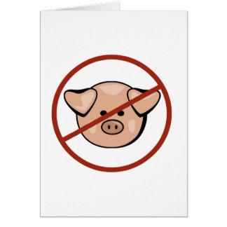 Swine Flu / Pork Card