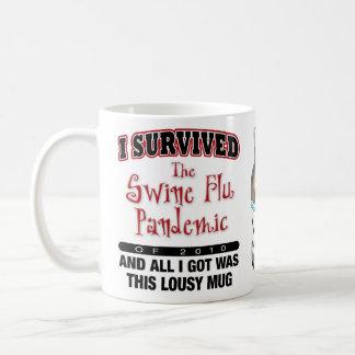 Swine Flu Survivor Basic White Mug