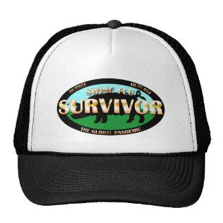 Swine Flu Survivor Trucker Hat