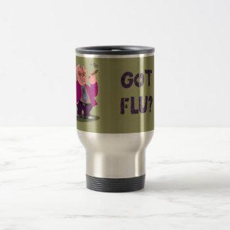Swine Flu Travel Mug