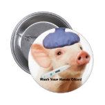 Swine H1N1 Badge