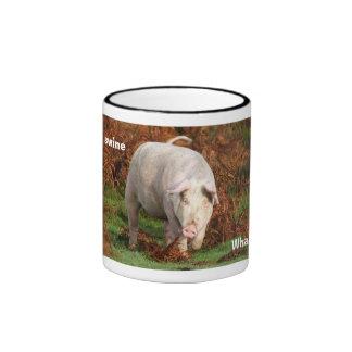 Swine mug