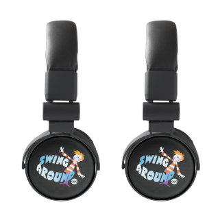 Swing Around - promo graphic Headphones