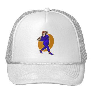 swing batter trucker hats