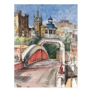Swing Bridge Postcard