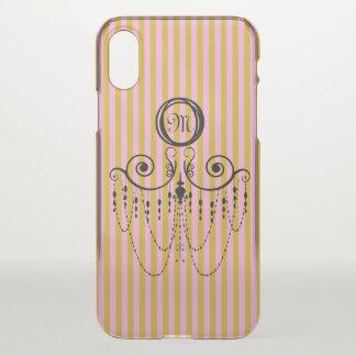 Swing Chandelier CHANGE COLOR Monogram - iPhone X Case