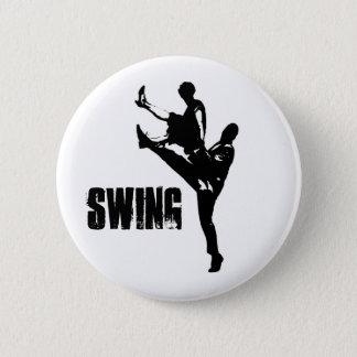 Swing Dance 6 Cm Round Badge