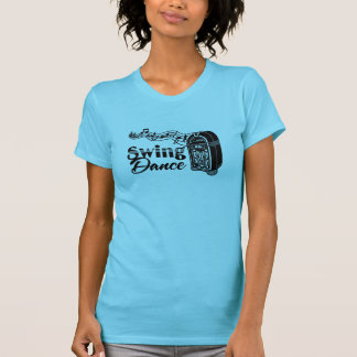 Swing Dance with Vintage Jukebox T-Shirt