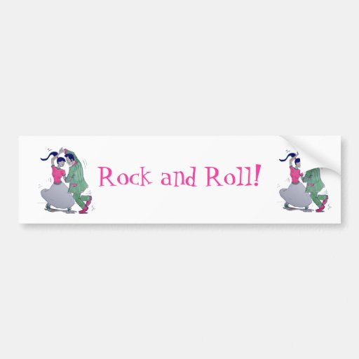 swing dancers bumper stickers