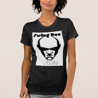 """Swing Dee Diablo""""Round Mound""""Logo Tee Shirts"""