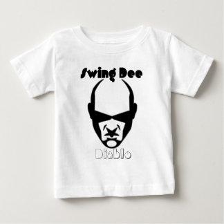 """Swing Dee Diablo""""Round Mound""""Logo Tee Shirt"""