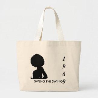 swing lady, SWING PHI SWING , 1969 Jumbo Tote Bag