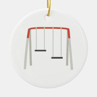 Swing Set Christmas Ornament