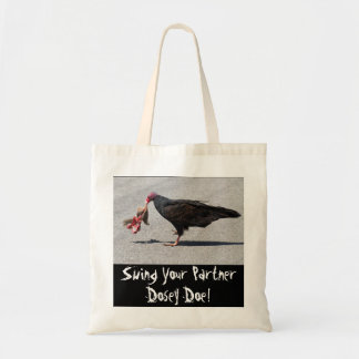 Swing Your Partner Dosey Doe! Budget Tote Bag