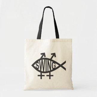 Swinger Fish Tote Bag