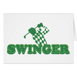 Swinger Golf Cards