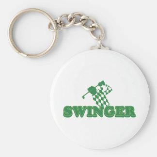 Swinger Golf Key Chain