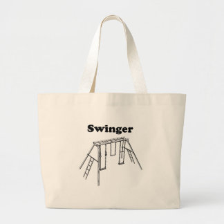 Swinger Jumbo Tote Bag