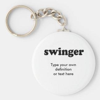 SWINGER KEY RING