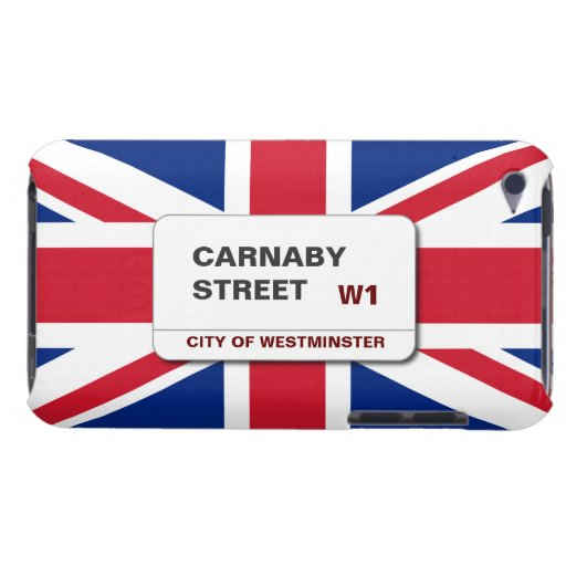 Swinging 60s Carnaby Street Union Jack iPod Touch Barely There iPod Case
