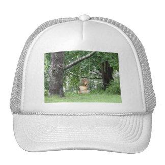 Swinging Angel  Baseball Hat