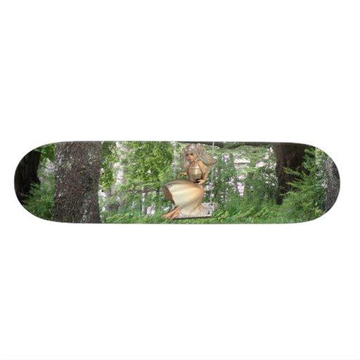 Swinging Angel Skateboard