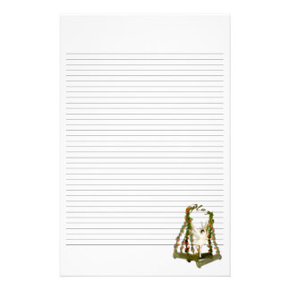 Swinging Fairy Lined Stationery