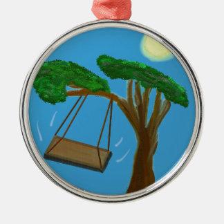 Swinging Free Christmas Ornament