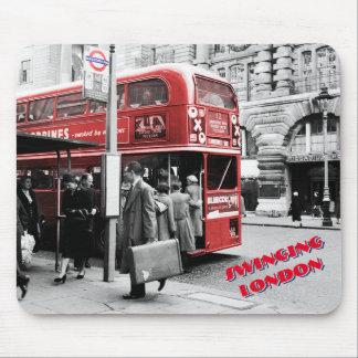 Swinging London Mouse Pad