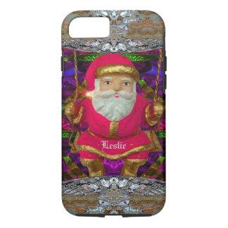 Swinging Santa  VII Christmas iPhone 8/7 Case
