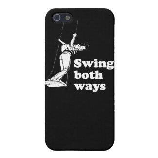 Swings both ways iPhone 5/5S covers