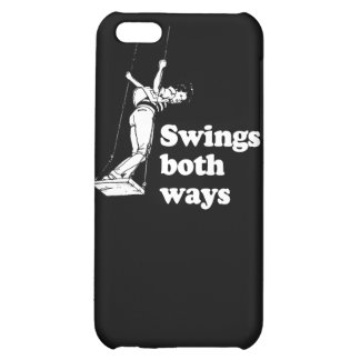 Swings both ways cover for iPhone 5C