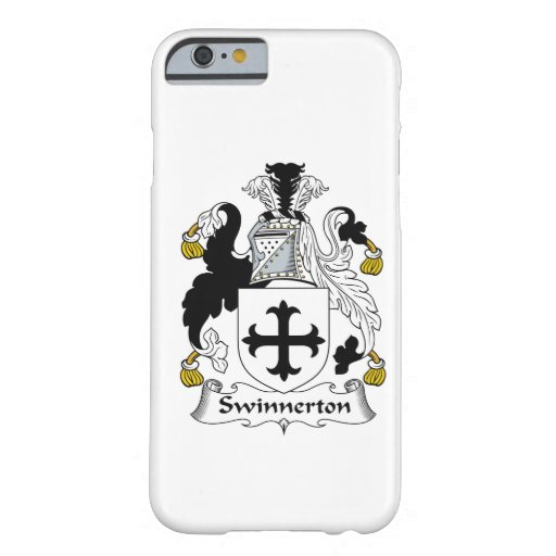 Swinnerton Family Crest iPhone 6 Case