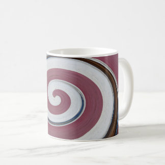 Swirl 01.02.2-Colors of Rust/Rost-Art Coffee Mug