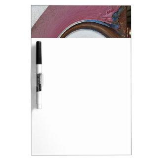 Swirl 01.02.3-Colors of Rust/Rost-Art Dry Erase Board