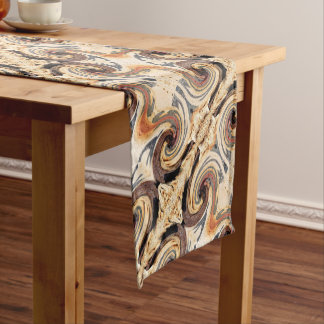 Swirl 01.2-Colors of Rust/Rust-A Short Table Runner