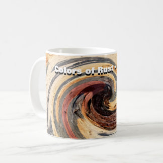 Swirl - 2.T.3 Colors of Rust/Rost-Art Coffee Mug