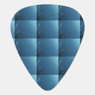 Swirl Blues Guitar Pick
