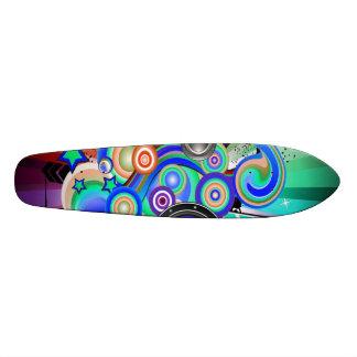 swirl board custom skate board