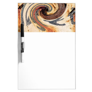 Swirl - Colors of Rust/Rust-Art Dry-Erase Whiteboard