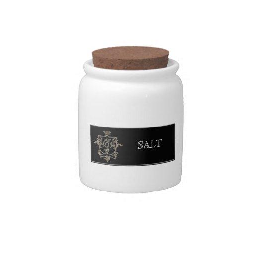 SWIRL CREST KITCHEN JARS CANDY JAR