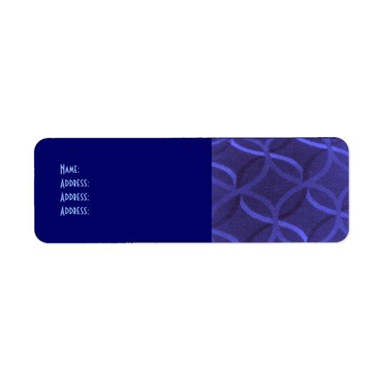 Swirl Design Return Address Labels