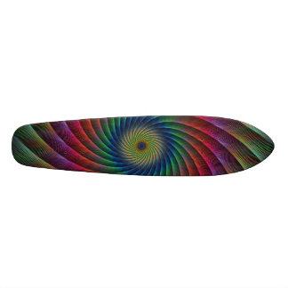 Swirl fractal skateboards