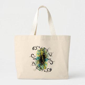 Swirl Grunge Clarinet Bags