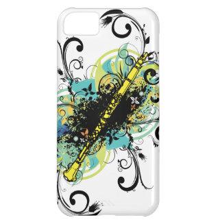 Swirl Grunge Clarinet iPhone 5C Case
