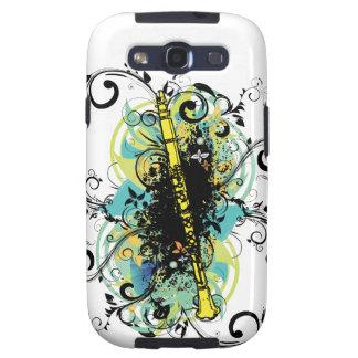 Swirl Grunge Clarinet Samsung Galaxy S3 Cases
