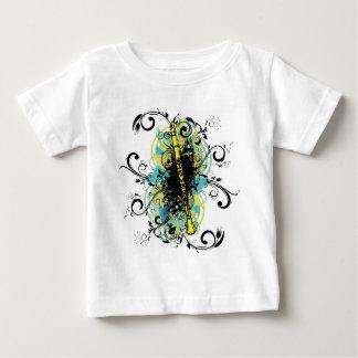 Swirl Grunge Clarinet Tee Shirts
