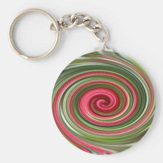 Swirl Key Chain